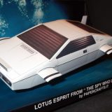 Lotus Esprit from 1977 James Bond Film The Spy Who Loved Me Front